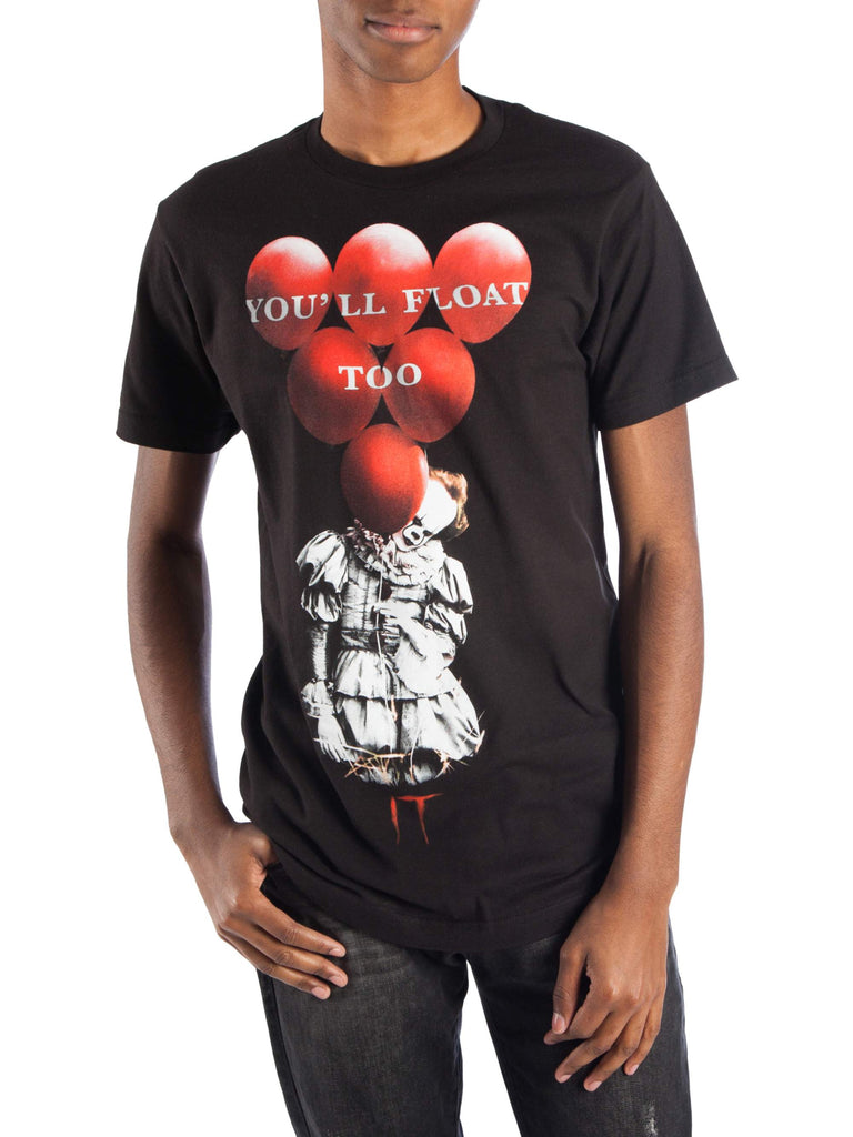 Pennywise It Men's and Big Men's You'll Float Too Graphic T-shirt