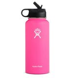 Hydro Flask 32Oz Water bottle Stainless Steel & Vacuum Insulated with Straw Lid-Blue