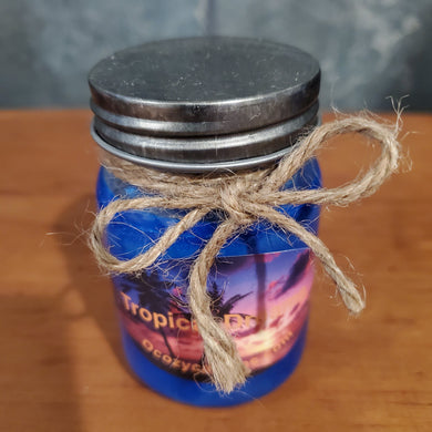 Tropical Dreams 4 oz Mini Mason Jar Treasure Candle - Ocozy Candles
