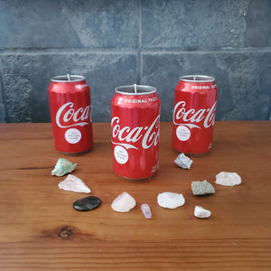 Choose Your Color & Fragrance 12 oz Coke Can Treasure Candle Decor - Ocozy Candles