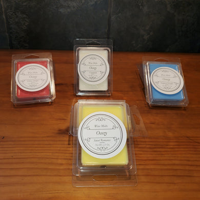 Pick Your Fragrance Wax Melts 2.5oz - Ocozy Candles