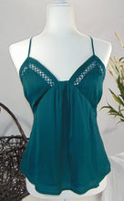 Load image into Gallery viewer, Our 'Just One Look' Cami- Teal