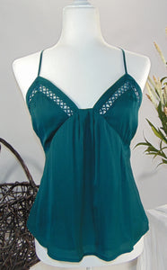 Our 'Just One Look' Cami- Teal
