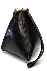 Mini Pyramid Handbag-black