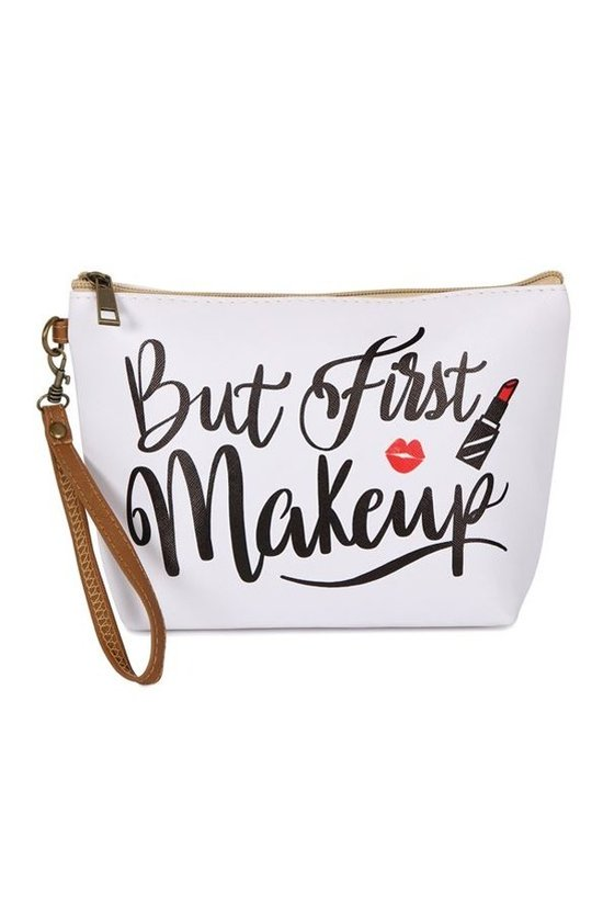 'But First Makeup' Clutch