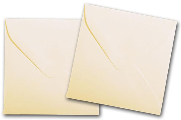 Natural 3 inch square envelopes