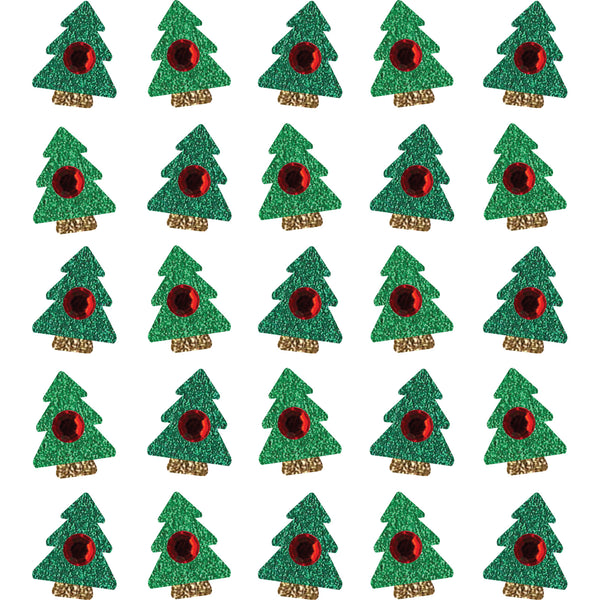 Jolee's Boutique Christmas Tree Glitter Gem Embellishment Stickers