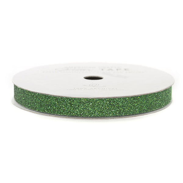 Holiday Green Glitter Tape