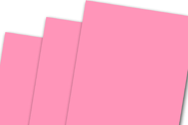 Neon Pink discount card stock