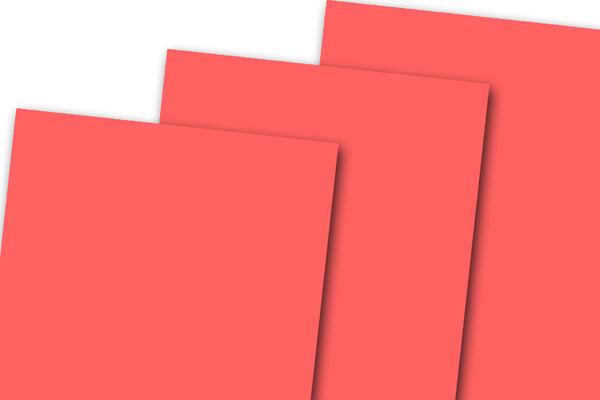 Discount Red Card Stock