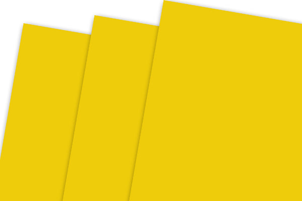 Bright Yellow Discount Card Stock