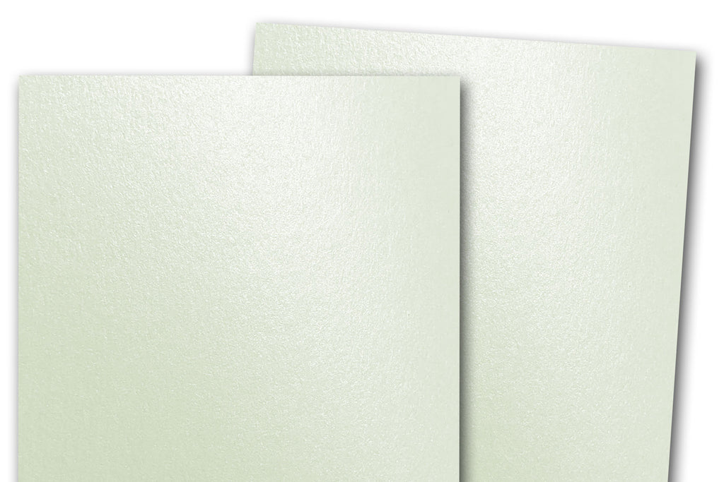 10 x A6 Mint Green Card Blanks with Pastel Green Envelopes