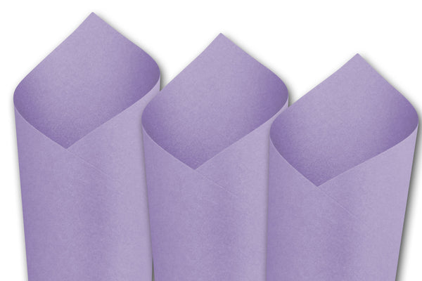 Metallic Lavender Card Stock