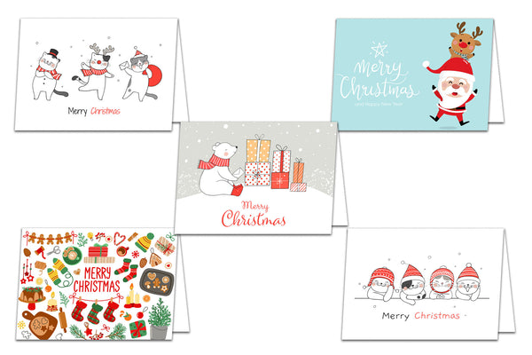 Holiday 5x7 Christmas Cards on discount Card Stock - 25 pack