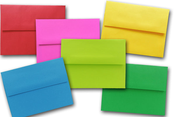Bright A6 Envelopes