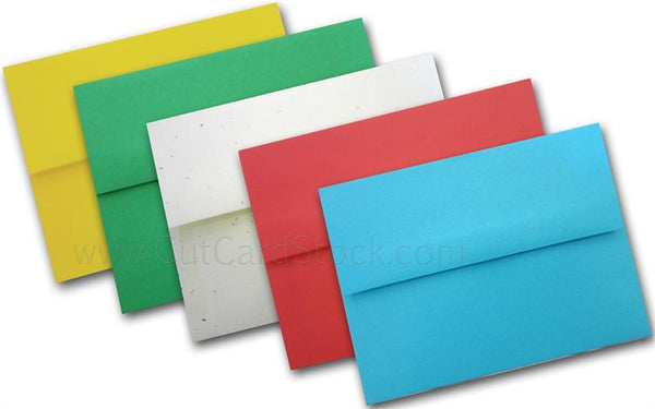 Astrobright A2 envelopes