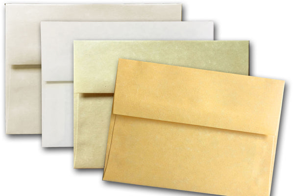 Discount parchment note card envelopes