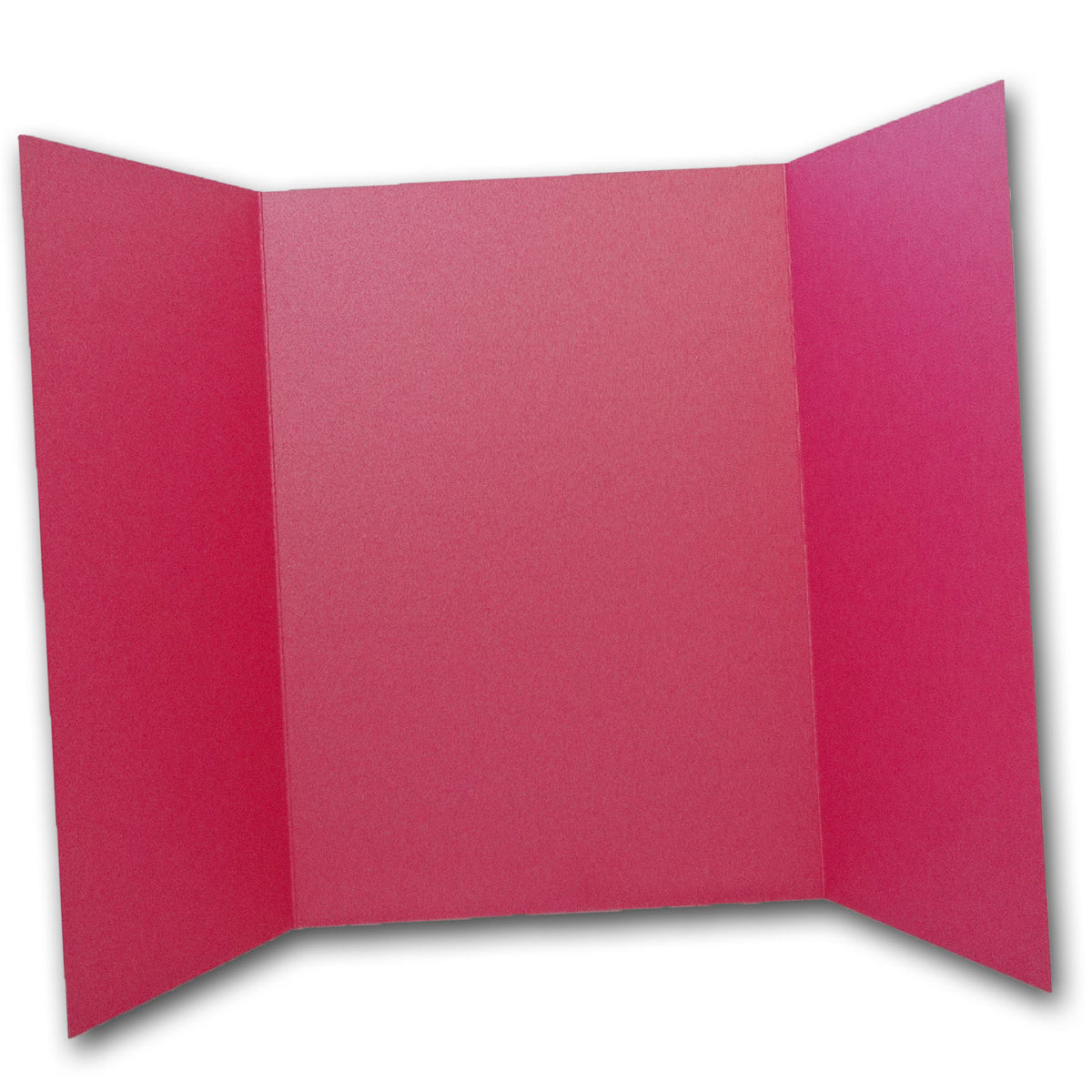 Shimmery Bright Pink 5x7 Gatefold Discount Card Stock DIY Invitations