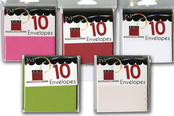 Mini Cards and Envelopes for Special Gifts
