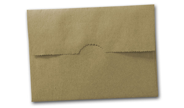 Brown Bag Kraft A7 Bag flap envelopes