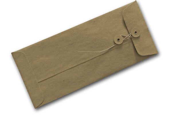 Kraft String and Button Envelopes