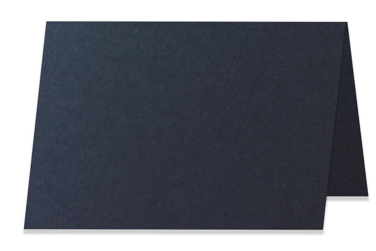 Basic Black  5x7 Folded Discount Card Stock