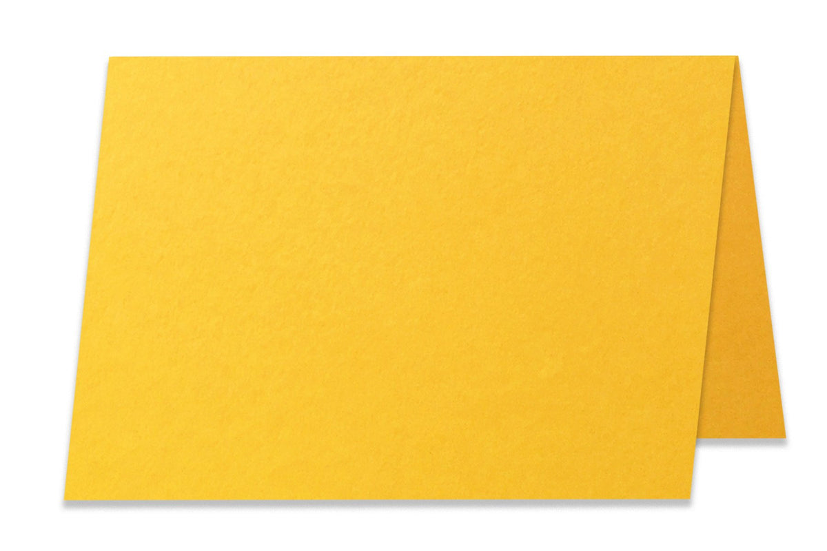 Basic Gold 5x7 Folded Discount Card Stock
