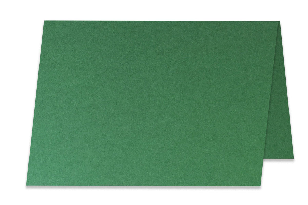 Basic Green  5x7 Folded Discount Card Stock