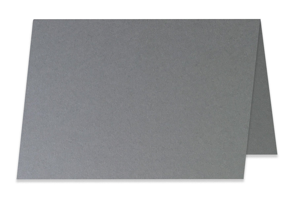 Basic Grey 5x7 Folded Discount Card Stock