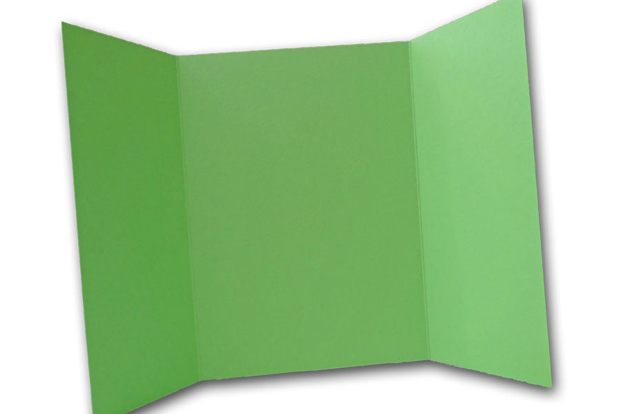 Light Lime 5x7 Discount Card Stock DIY Gatefold Invitations