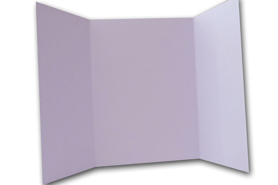 Light Purple 5x7 Discount Card Stock DIY Gatefold Invitations
