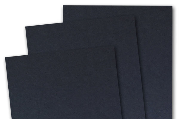 Black 80 lb card stock