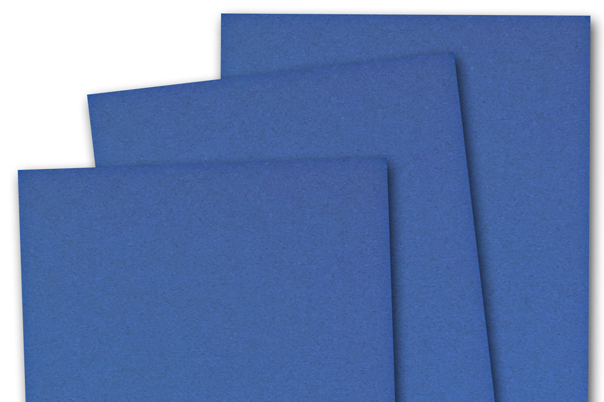 Blue 3x5 inch Discount Card Stock