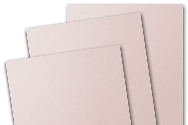 Basis 8.5x11 Soft Pink 80 lb Card Stock