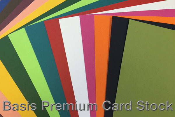 Basic Colored Card Stock