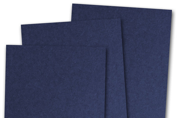 Basic Navy Card Stock