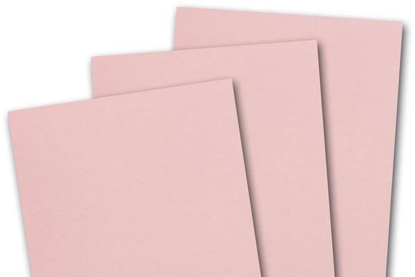 Basic pink card stock