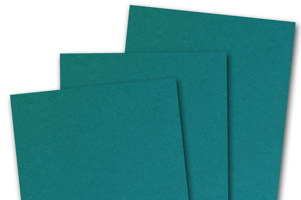 Basic Teal Card Stock