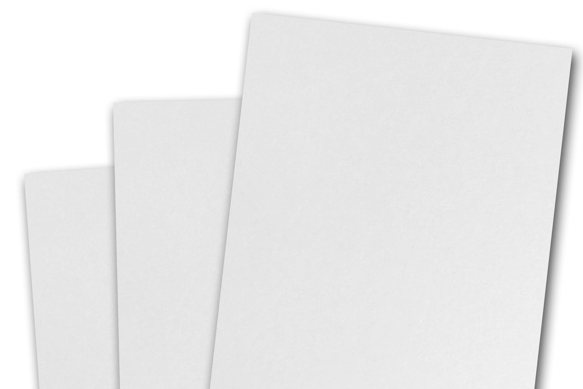White A1 4 Bar Discount Card Stock for DIY RSVP