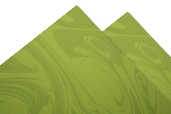 Green Marble Card Stock