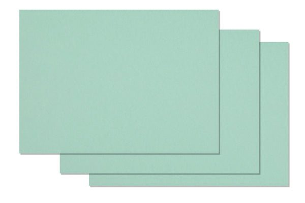 Light aqua card stock