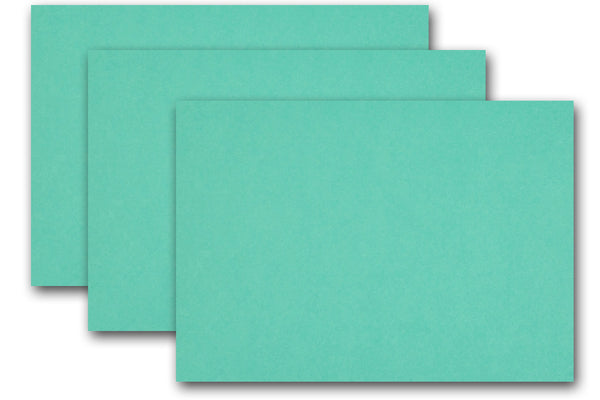 Pop-Tone Blue Raspberry A1 Flat Cards - 250 pack - OVERSTOCK