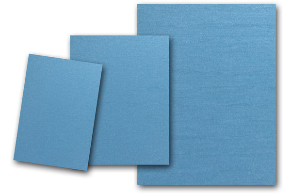 Martha Stewart Blue Calico Cardstock paper