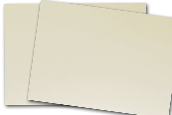 Ivory Double Thick Card Stock