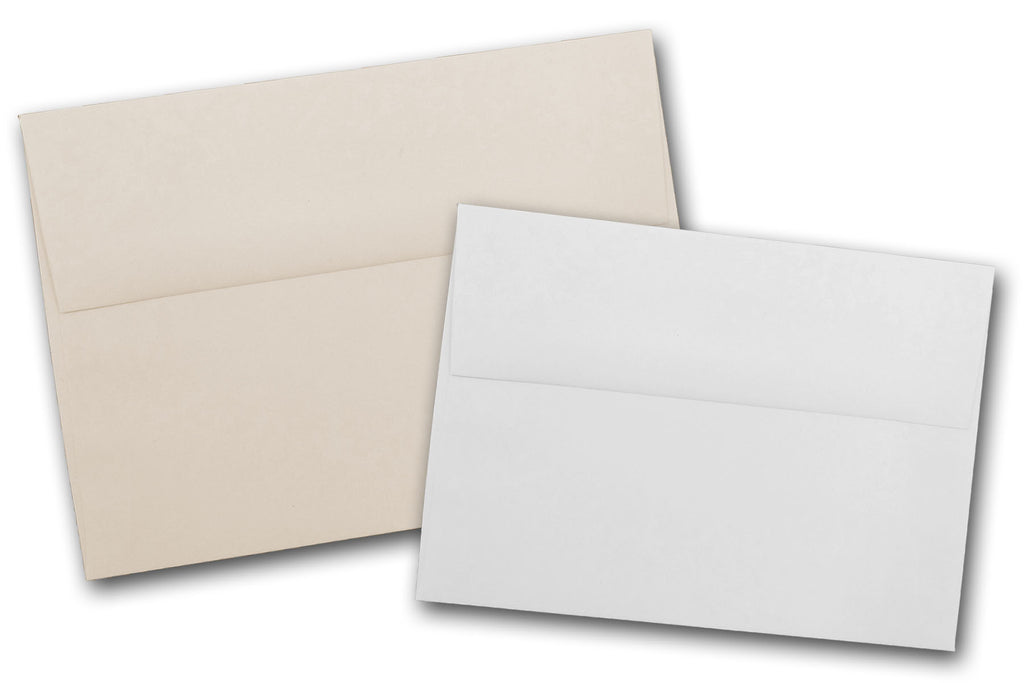 earth friendly recycled a7 envelopes for 5x7 invitations and cards