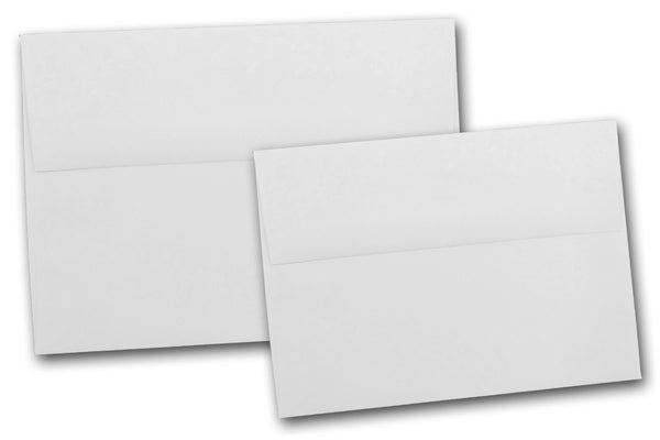 Recycled White 5x7 Envelopes