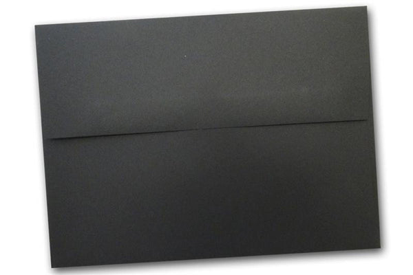 BLACK  5x7 Envelopes
