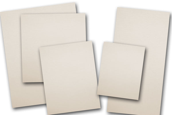 Ivory Linen A2 Discount Card stock
