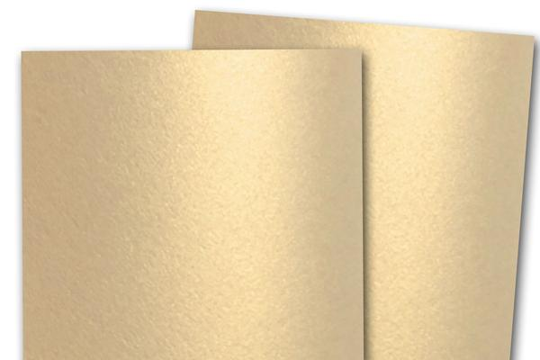 Shimmery Metallic Champagne Paper for Card Making, Printing and Paper flowers