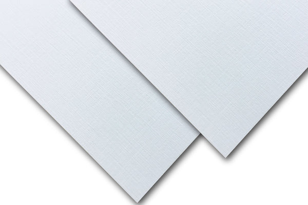 White Linen heavyweight card stock